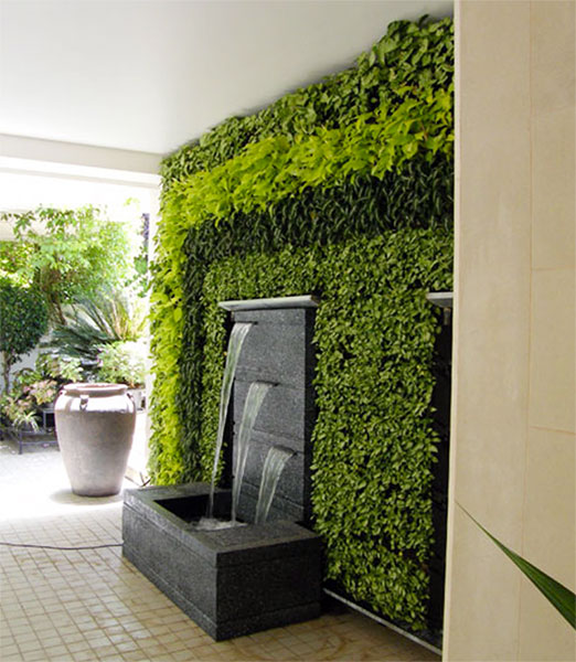 Ecoclean - Green Wall / Vertical Garden